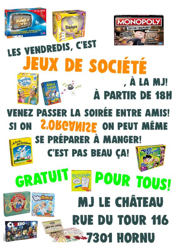 MJ Château Jeux de société